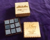 Personalized Whiskey Stones  - Gift for Selective Bourbon or Scotch Lovers - Customized Wood Box