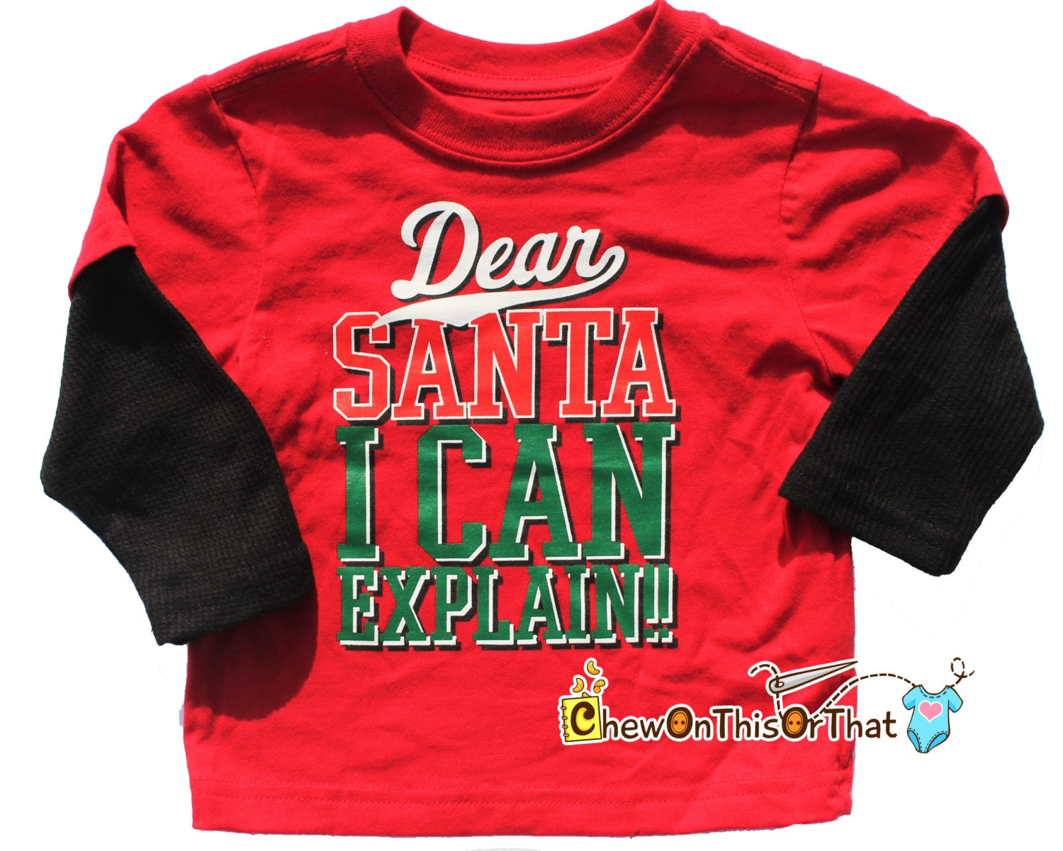 db1ca4b03bdfe Baby First Christmas Funny Holiday T Shirts – EDGE Engineering and ...