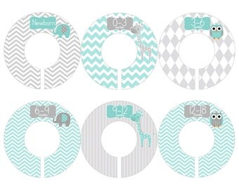Baby clothes divider