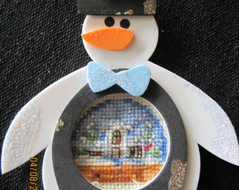 Snowman Holiday Housd Christmas Tree Ornament