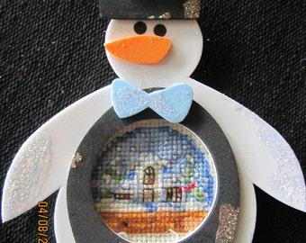 Snowman Holiday Housd Christmas Tree Ornament