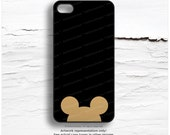 iPhone 6S Case Mouse Ears iPhone 6 Case Mouse Ears 5C Case iPhone 5s Case Gold Mouse iPhone Case Mouse iPhone 5c Case iPhone 6S Case M43