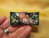 Berlin work miniature long pillow Floral NOW REDUCED!!!