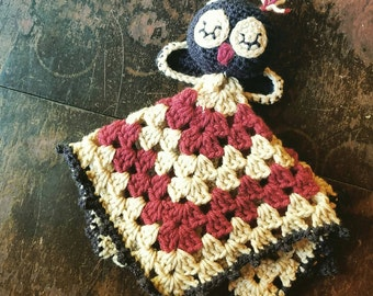 Owl Security Crochet Blanket