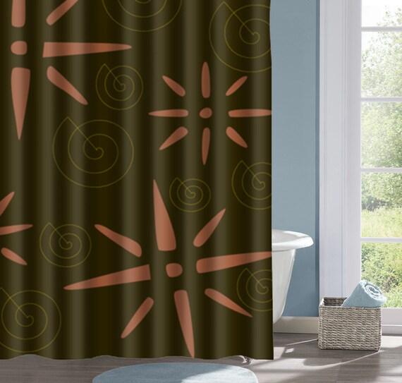 Sun and Spiral Shower Curtain Native American Design Bath # Sun Shower Spa_161739