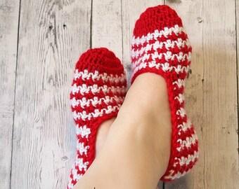 Crochet Pattern Slipper Socks PDF 16-253