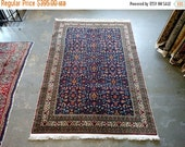 CLEARANCE 1970s Hand-Knotted Turkish Rug (3446)