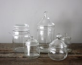 Instant Collection Vintage Apothecary Jars