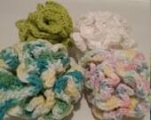 Crochet Shower Scrubbies