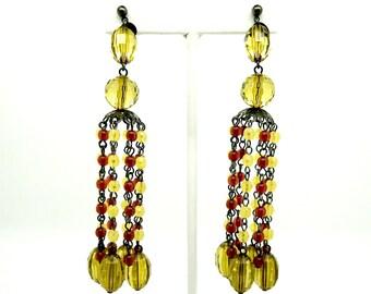 Bohemian dangle earrings, Vintage bohemian earrings, Buy bohemian earrings, Bohemian style earrings, Bohemian chandelier earrings,