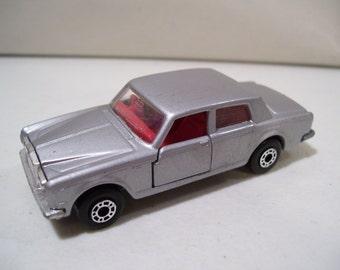 Vintage Matchbox Superfast Silver Shadow II Rolls Royce Diecast Car 1979, Lesney England, No 39