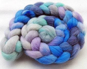 ALPACA Wool Roving - Handpainted Spinning Fiber -   5.3 oz.  Nr. 727