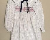 Vintage Polly Flinders dress (white)