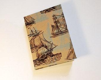 A6 Coptic Ships Sketchbook