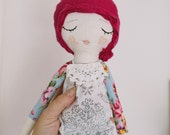 Pink Haired Blossom Doll