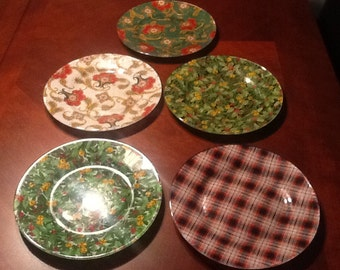 Christmas Cookie/Candy dishes