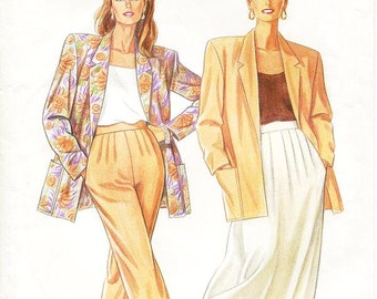 Simplicity Separates Pattern 7226 - Misses' Jacket, Skirt or Pants - It's So Easy Simplicity Patterns - Sz 8 thru 20