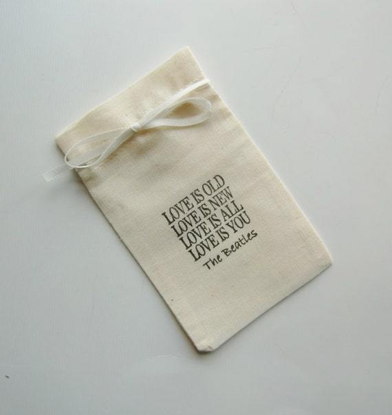 Wedding Favor Bags With Ribbon : Is You-Wedding Favor Bags-Wedding Favors-5x3-Muslin Bags with Ribbon ...