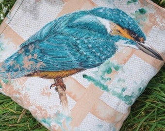 """COVER 100% Natural Linen Cushion Cover - 18"""" - The King"""