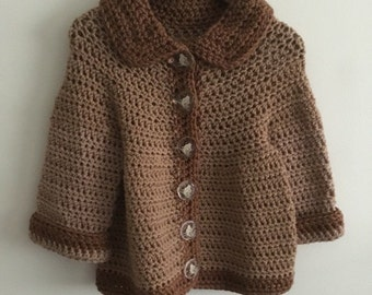 Little girls sweater size 1/2.