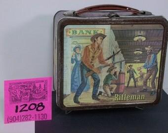 1950's Alladin Rifleman Lunchbox