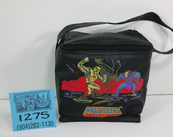 1980's Masters of the Universe Black LunchBag