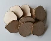 Hazel, Wood slices, 8cm, Tree slices, wood slices, branch slices, wooden slices, craft, crafting, wedding, outdoor crafts