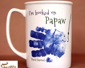 Fish Handprint Mug  402_mug