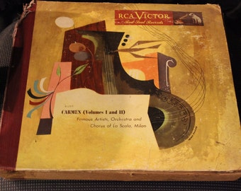 Vintage Bizet Carmen (Volumes 1 and 2)
