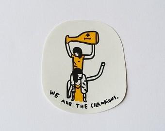 champions - sticker