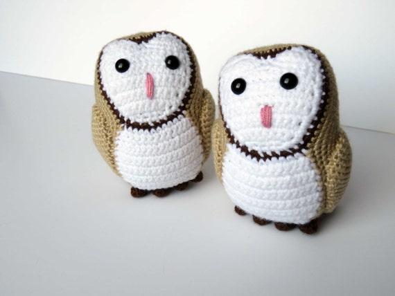 Amigurumi Barn Owl : Crochet Pattern: Barn Owl Amigurumi Pattern PDF from ...