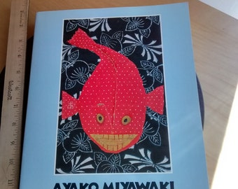 Ayako Miyawaki textile fiber arts vintage 90s collectible book by The National Museum Women in Arts Japanese boro rag art applique artist