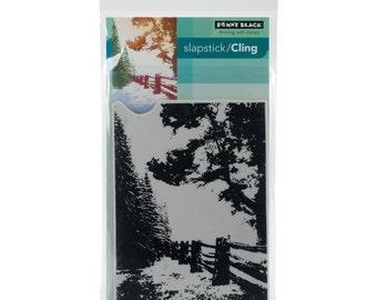 Penny Black Cling Stamp Hidden Lane