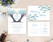 Heart wedding invitations...