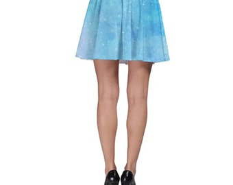 Recre8Clothing™ Frozen I Skater Skirt