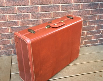 Luggage Antique Leather Case, Samsonite