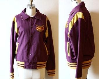 1960s varsity jacket  // bomber jacket // vintage jacket