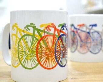 Bicycle Mug. On your bike cycle mug.