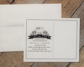 Personalized Card & Envelope
