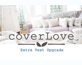 Extra Text Upgrade