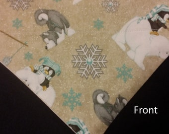 Polar Bears, Penguins and Huskies Winter Dog Bandanas!!