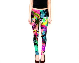 Women's Leggings /  Printed Yoga Pants /  Patterned Leggings /  Best Leggings /  Ypga Leggings / Workout Leggings / Boho Leggings