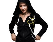 SALE - Bubble Hoodie - Sports - Fitness Jacket - Sweatshirt  - Elf - Hood - Women - SALE 20% OFF
