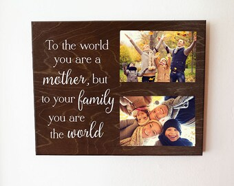 Mothers Day Gift Gift for Mom To the world you are a mother but to your family Mom Gift Gift for Mother