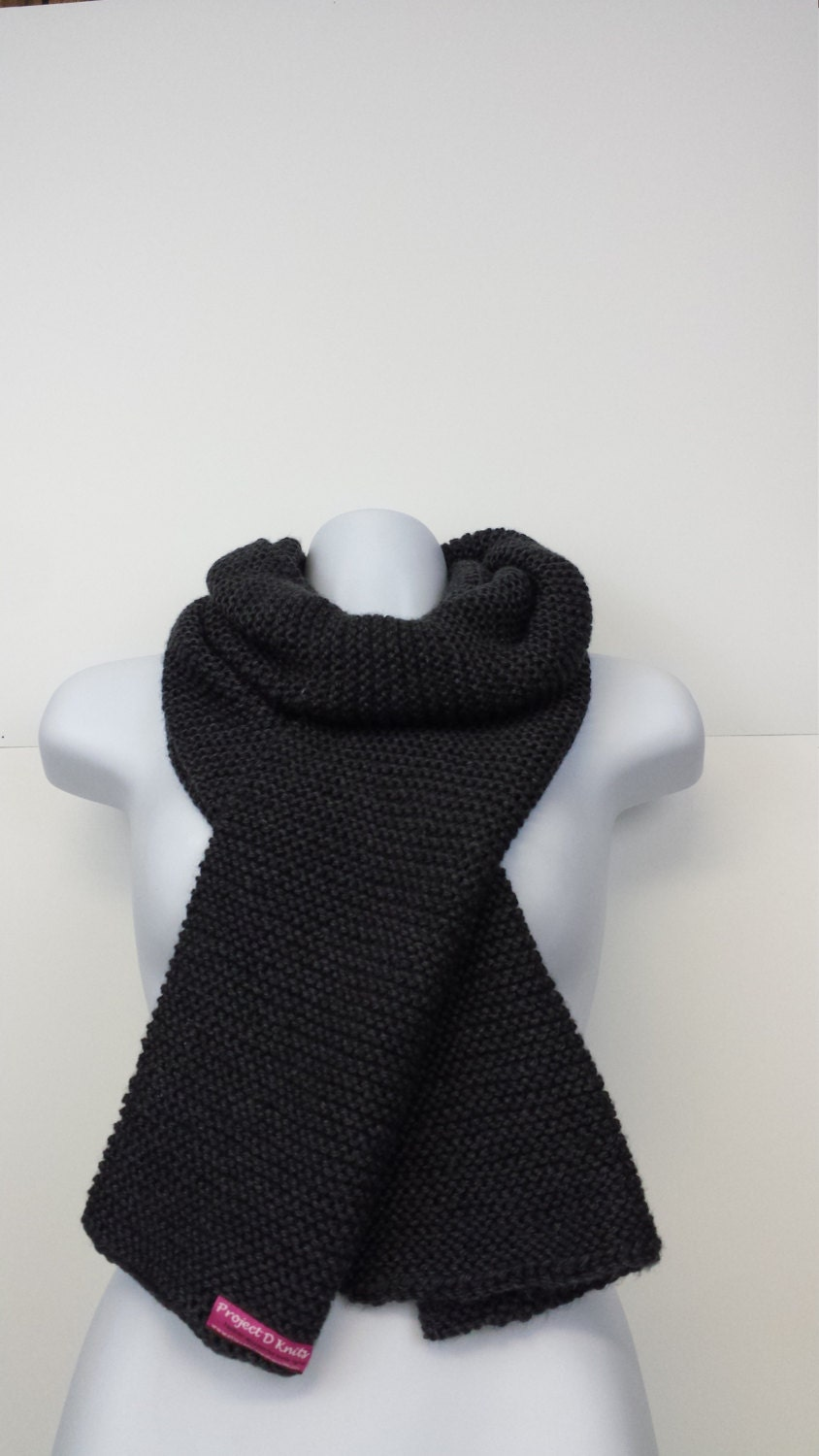 Knitting Patterns Scarves 2 Colors : Knit Scarves; available in two colors