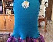 Elsa Anna play dress ready to ship