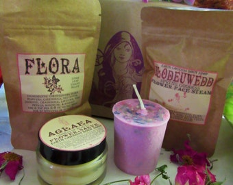 SALE little pampering boxes | pick your poison: four gifts of goddess magick & nature