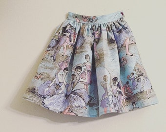 Girls Skirt/Ballet Skirt/Pastel Skirt/New Vintage/Stylish