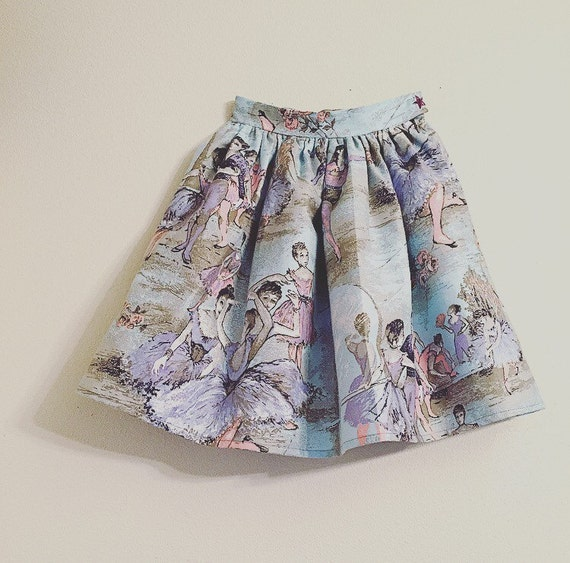Girls Skirt/Ballet Skirt/Pastel Skirt/New Vintage/Stylish