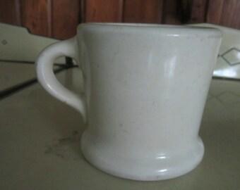 Very Old Hall Coffee Shaving Mug Cup Restaurant Ware